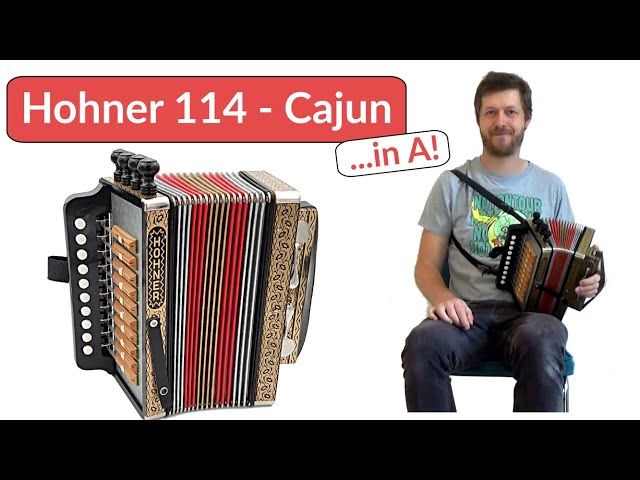 For Sale: Creole Stomp on Cajun Accordion Hohner 114  4-stop tuned in A | by Accordion Doctor