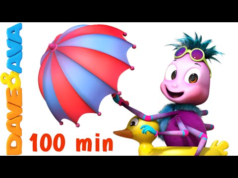 Itsy Bitsy Spider | Popular Nursery Rhymes Collection for Children by Dave and Ava