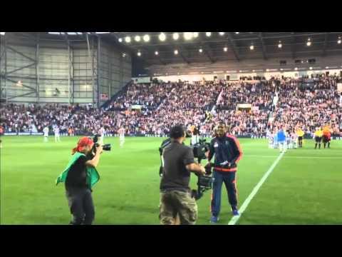 Salomón Rondón ovacionado en el estadio del West Bromwich 10/08/2015
