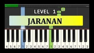 not piano jaranan - tutorial level 1 - lagu daerah nusantara - tradisional -  jawa tengah