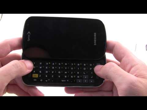 Sprint Epic 4G unboxing (Samsung Galaxy S)