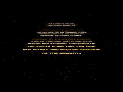star wars letras