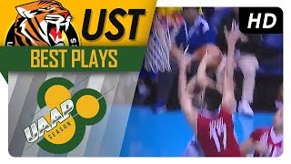 Regie Boy Basibas tough HANGTIME finish off the sweet give and go | UST | Best Plays