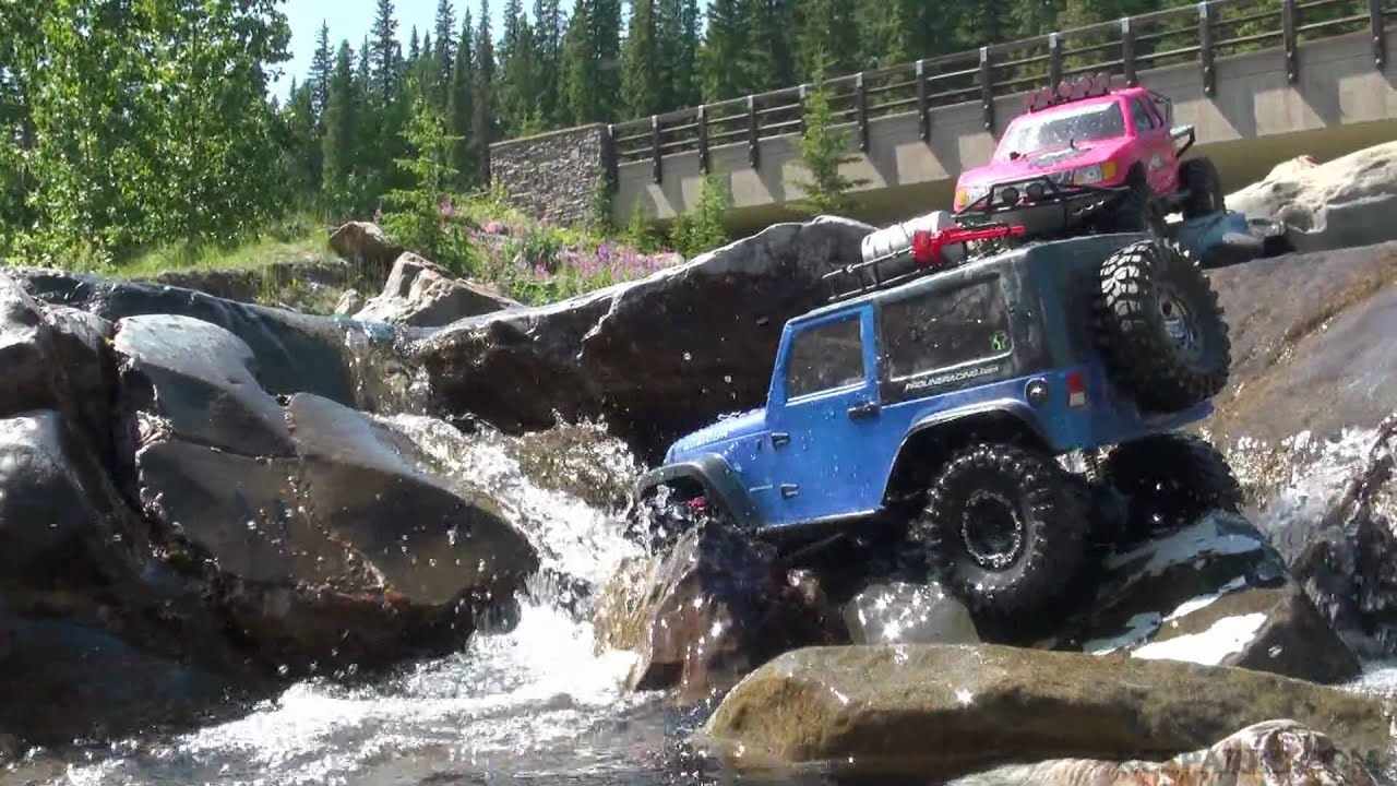Rc Adventures Champions Of The Waterfall Jeep Wrangler