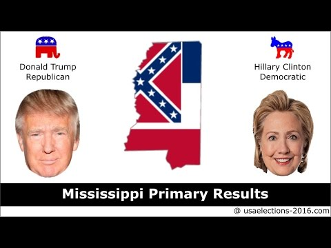 Mississippi Primary Result 2016 : US Election 2016