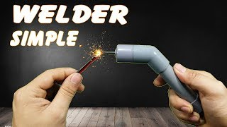 Making simple welding machines at home no need lead