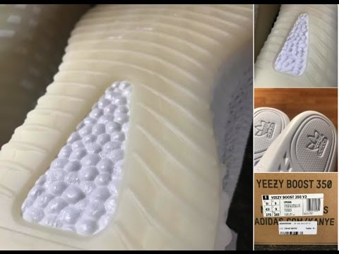 54837353e6f ADIDAS YEEZY BOOST 350 V2 TRIPLE WHITE + REAL OR FAKE??? QC Problems?? YOU  BE THE JUDGE