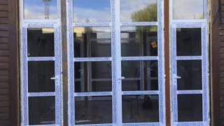 видео Входные алюминиевые двери