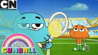 The Amazing World of Gumball   Epic Tennis Match   Cartoon Network UK