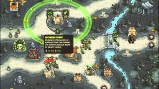 Kingdom Rush Frontiers - Desecrated Grove - 3 Stars