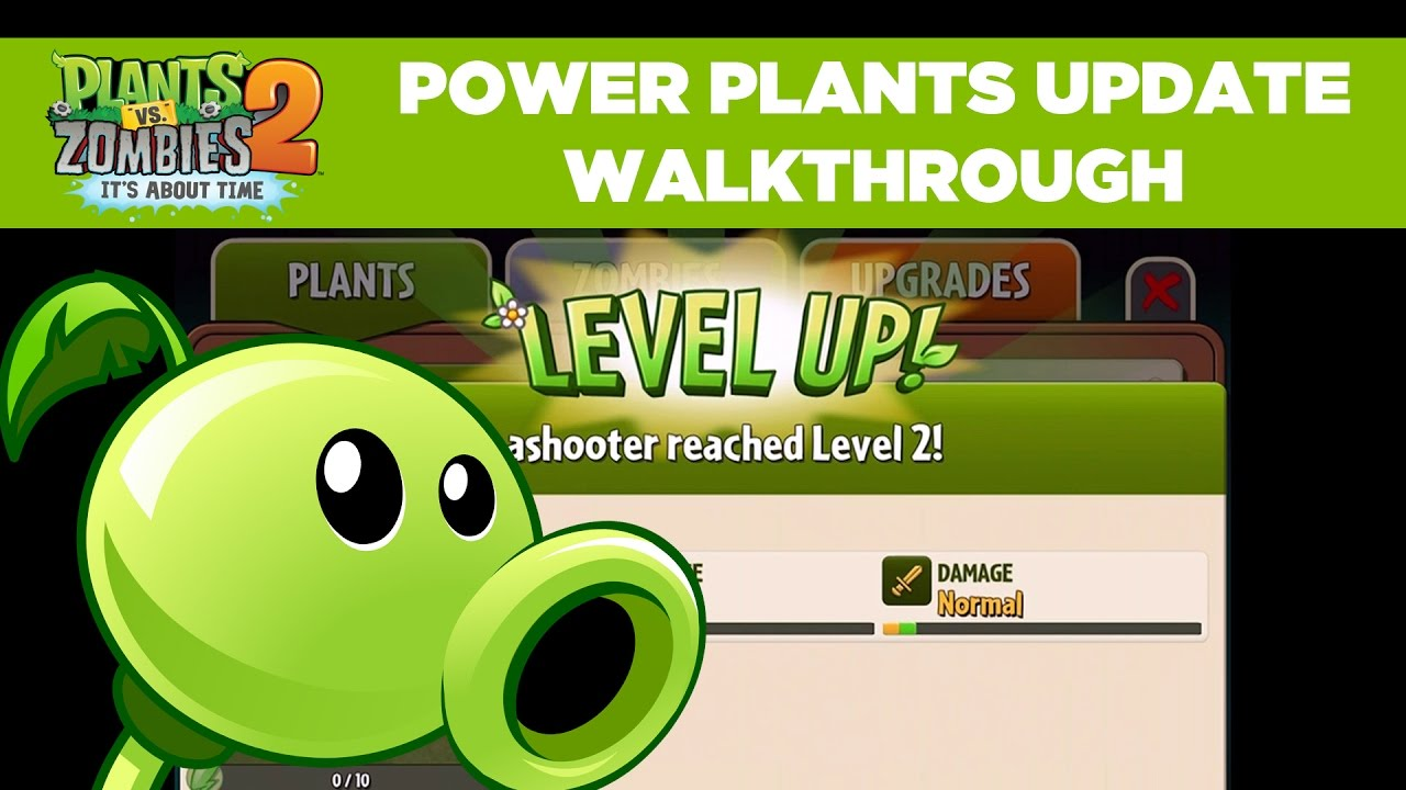 Level Up with Power Plants