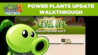 Power Plants Gameplay Walkthrough | Plants vs. Zombies 2