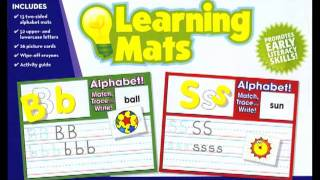 Alphabet Learning Mats From Scholastic Teaching Resources