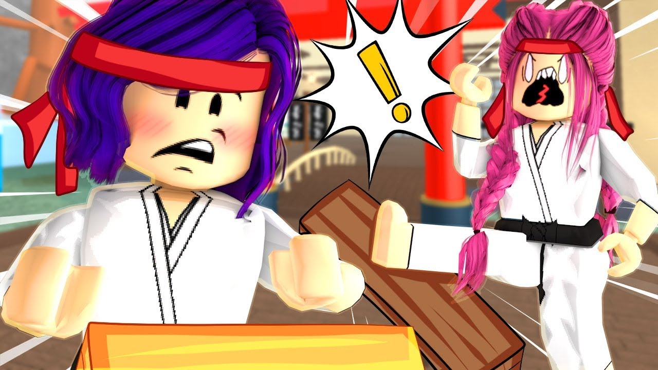 Der STARKSTESTE Spieler in Roblox! Karate Chop Simulator! + video