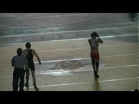 2A STATE: 120lbs Steven Martinez (Toppenish) vs Curtis Chittenden (Cedarest)[firstround]
