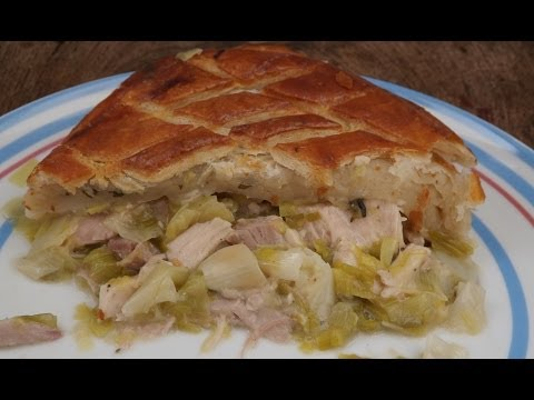 The Ultimate Turkey,Ham And Leek Pie..Turkey Leftovers Part 1.