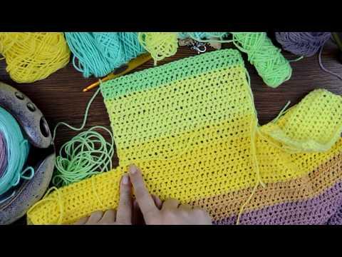 Painted Canyon Cardigan Crochet Pattern Companion