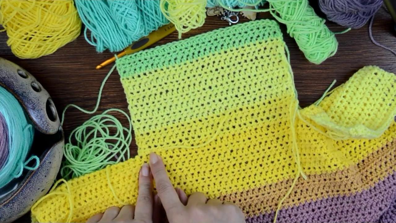 Painted Canyon Cardigan Crochet Pattern Companion Video - YouTube