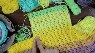 Painted Canyon Cardigan Crochet Pattern Companion Video