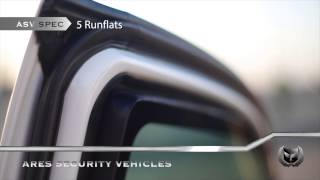 Ares Security Vehicles - Armoured Toyota Hilux