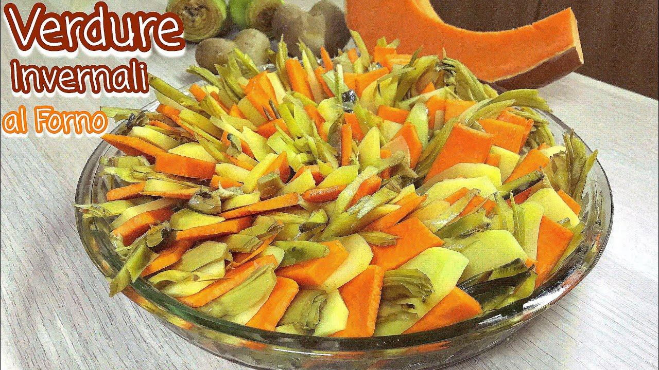 VERDURE INVERNALI AL FORNO ricetta leggera vegetariana WINTER VEGETABLE CAKE - Tutti a Tavola