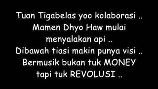 Dhyo Haw Ft  Tuan Tigabelas   Satukan Hati Lyrics