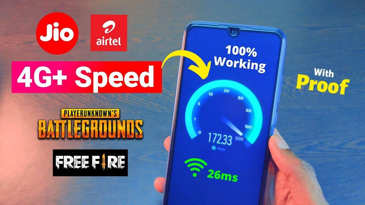 172Mb Speed 4G+ 26ms Pubg Ping Latest Jio APN Settings Airtel APN Settings 4g 2021 TechnoMind Ujjwal