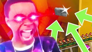 Minecraft- FiNd tHe buTTon [GONE WRONG] [GONE HILARIOUS] [GONE FISHING]