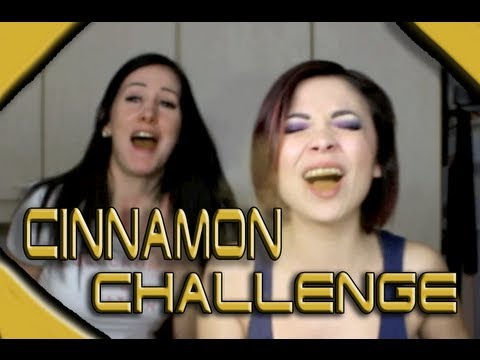 CINNAMON CHALLENGE!