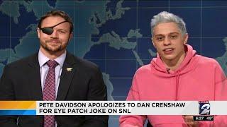 Congressman-elect Dan Crenshaw on SNL to receive apology