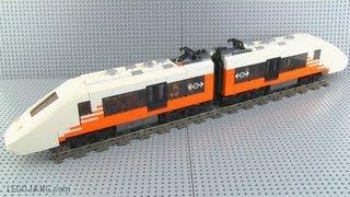 lego custom train moc pm a12 high speed passenger emu