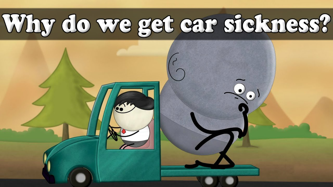 Why do we get car sickness? | #aumsum #kids #science - YouTube