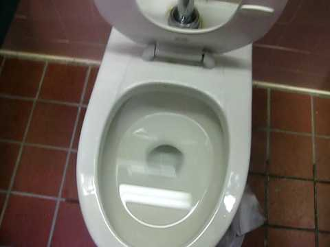 3 5 Gpf American Standard Afwall Toilet With Unusual