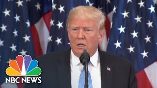 President Donald Trump Says He Might Delay Rod Rosenstein Meeting, Prefers Not To Fire | NBC News