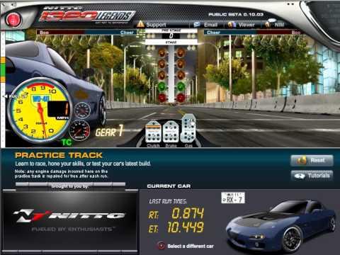 Nitto 1320 Legends - Testing RX7 Mazda