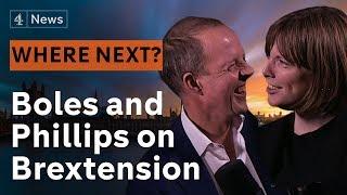 Jess Phillips and Nick Boles talk hot coals and a Brexit extension