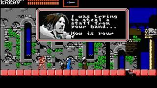 Castlevania Netflix Series as a NES game