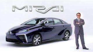 トヨタ自動車、新型燃料電池自動車の車名を「MIRAI」に決定