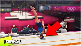 One of ZerkaaPlays's most viewed videos: I BROKE MY NECK AT THE OLYMPICS! (London 2012)