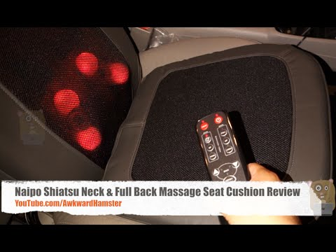 Naipo Shiatsu Neck Full Back Massage Seat Cushion Review