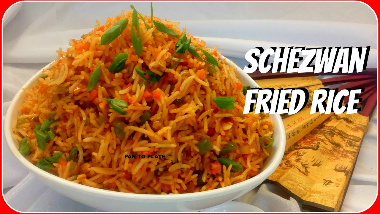 Veg Schezwan Fried Rice | Quick Schezwan Recipe | How to ...