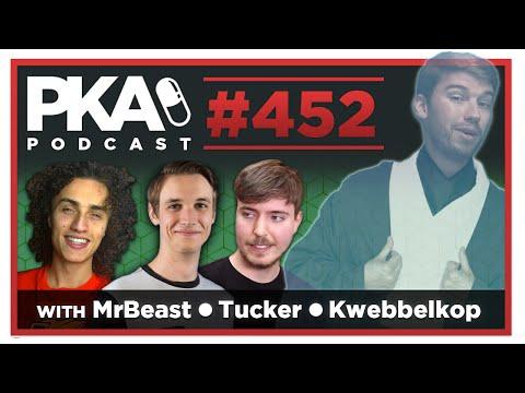 PKA 452 w MrBeast, Tucker, Kwebbelkop - Taylor's Basement Snake, Kyle in Prison, YouTube Success