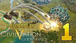 Строим Японию в Civilization V: Gods & Kings - 1 серия