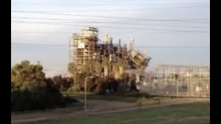 Chula Vista - San Diego South Bay power plant implosion by David Zumaya