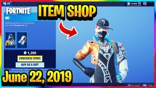 FORTNITE ITEM SHOP *NEW* BIZ SKIN AND BIZZY WRAP! | ITEM SHOP (June 22, 2019)