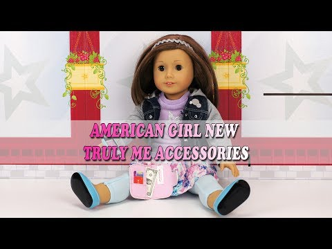 Unboxing American Girl Summer 2017 Truly Me Accessories New Item