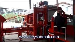 machine fabrication parpaing