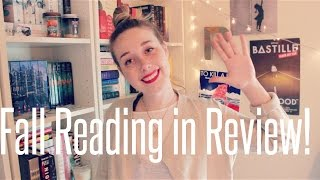 Top 5 Books I've Read This Fall: Fall Reading in Review! Thumbnail