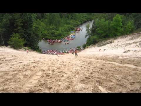 Pine River Dune Canoe ride 8/10/13 AWESOME!