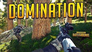 SQUAD DOMINATION! - PLAYERUNKNOWN'S BATTLEGROUNDS (PUBG)